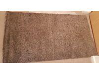 Ikea ADUM brown carpet 80 x 150 cm