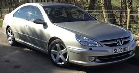 """Peugeot 607 3.0 V6 Executive **FREE ROAD TAX + MARCH SALE SAVINGS** With """"Porsche Tiptronic System""""*"""