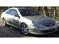 "Peugeot 607 3.0 V6 Executive **FREE ROAD TAX + MARCH SALE SAVINGS** With ""Porsche Tiptronic System""*"