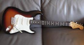 As new Fender Classic Series '60s Stratocaster. 2016. Sunburst & Hardcase, MINT!