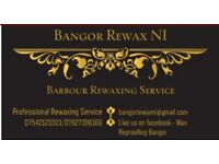 £35 Barbour and Waxed Garment Reproofing Service