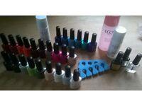 Gel nails kit 25 colours plus