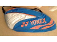 Yonex badminton bag and towel