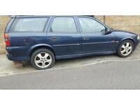 Vauxhall vectra sxi 1800 cc petrol 2002 blue 5 door estate all new tyres
