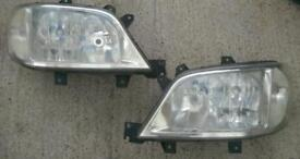 Mercedes sprinter headlights pair left and right 2005