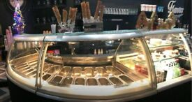 ISA-ICE-CREAM-DISPLAY-24-display-pockets-cake-chiller-Fully-functional