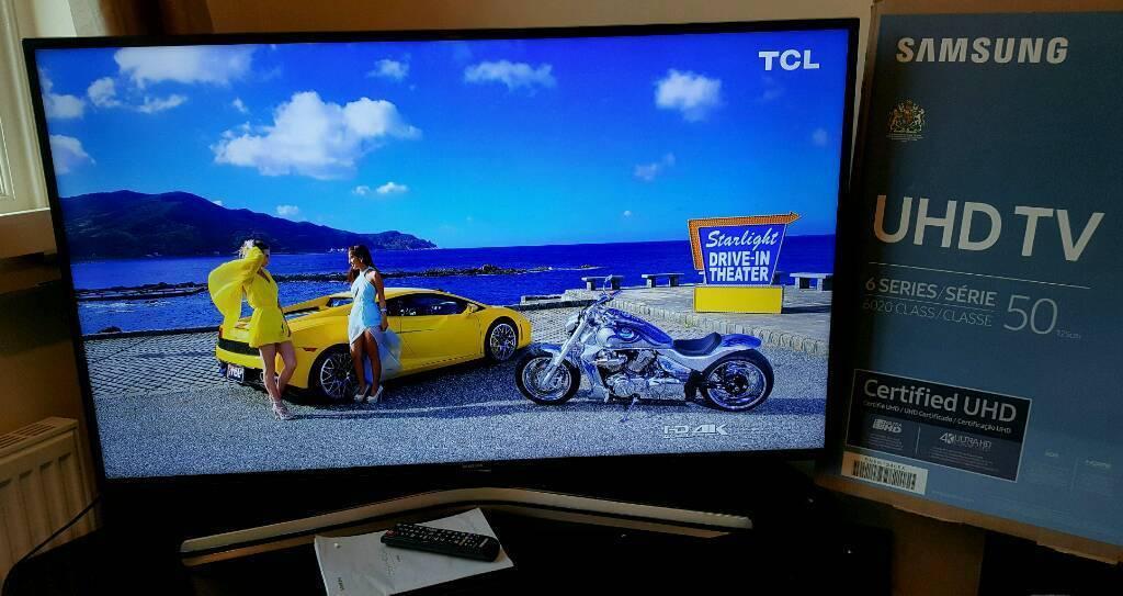 Samsung 50 Inch Smart Tv 4k