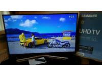 Samsung 50 Inch 4K Ultra HD HDR Smart led tv UE50KU6020 with built-in WIFI, quad core processor