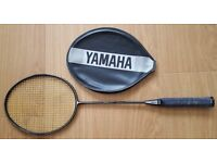 Yamaha Graphite 55 Badminton Racket with cover