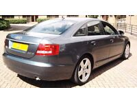AUDI A6 TDI SLINE AUTOMATIC REMAPPED TO 160BHP NEW TURBO CHEAP 1 OWNER MERCEDES PASSAT BMW A4 GOLF