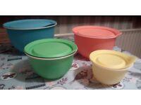 New , Tupperware 4 bowl set only £25 Bargain!!!!