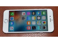 Apple iPhone6, 64GB, Whote, Unlocked in Excellent Used Condition