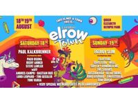 Elrow Town Sunday x 2 tickets , Fat Boy Slim & Idris Elba - collect 5mins from venue (Olympic park)