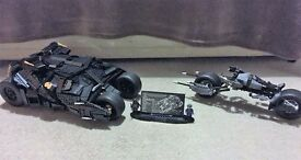 Lego Copy (Lepin) Batman Tumbler and Bat-Pod