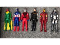 Marvel set of figures