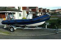 TORNADO RIB 5.1m Boat HONDA 2006