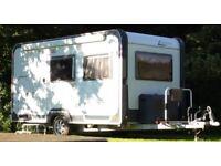 Knaus Deseo Plus 4 berth Caravan with Fixed Bunk Beds