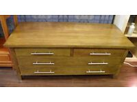 Attractive Oak Low Side/ TV Cabinet - WE CAN DELIVER