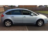 CITROEN C4 SX HDI ; 2008 ; £30 ROAD TAX