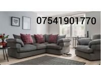 Free delivery Leah brand new corner sofa(Extra chair)