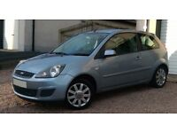 2007 Ford Fiesta Silver Edition - similar size to Polo Clio Corsa