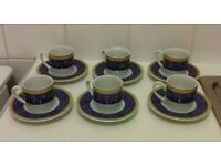 Finest Porcelain 12Piece Coffee Set