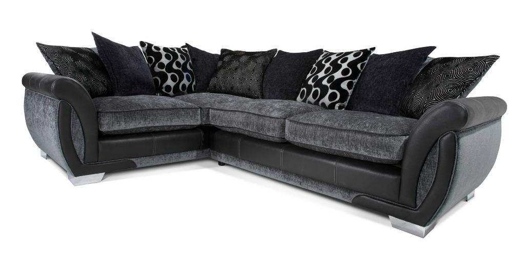 Brand New Sofa 399 Shannon Dfs Sofa Leather Fabric
