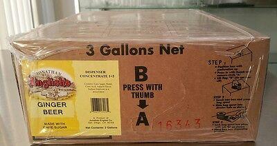 3 Gal Bib Ginger Beer Premium Dispenser Syrup For Soda Gun Fountains Moscow Mule