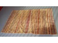 Stripey rug