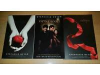 The Twilight Saga - Trilogy (Paperback books)