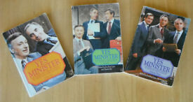 Yes Minister Volumes 1 to 3 Signed edition Collectable Jonathan Lynn, Antony Jay