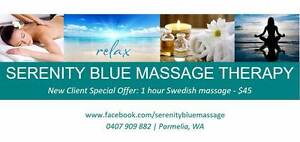 Serenity Blue Massasage Therapy Parmelia Kwinana Area Preview