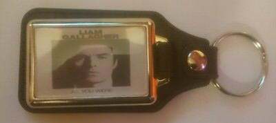 LIAM GALLAGHER AS YOU WERE CD ALBUM COVER LEATHER KEYRING oasis xmas gift idea