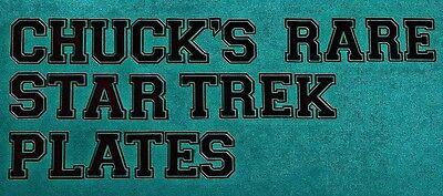 Chuck's Rare Star Trek Plates