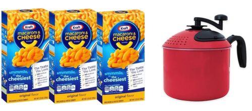 Mac N Cheese 3 Pack with Included Mac Magic Mac N Cheese Maker
