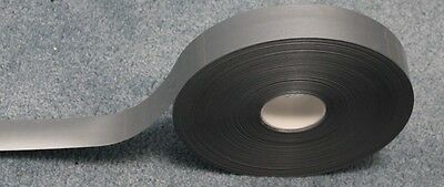Silver Retro Reflective Tape Iron On Trim100 Yards 1 Inch Wide