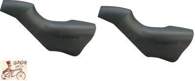 SHIMANO ULTEGRA 6800 105 5800 STI BICYCLE BRAKE LEVER BLACK HOODS--1 PAIR