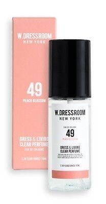 W.Dressroom Perfume Air Fresheners Home Fragrances Spray 70ml [49 Peach Blossom]
