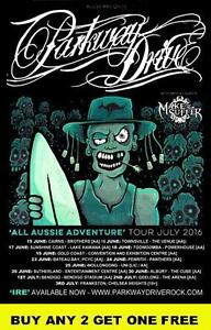 PARKWAY DRIVE 2016 Australian Tour  'All Aussie Adventure'  Laminated Poster