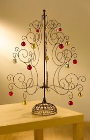 Christmas tree 2 ft victorian style wirework. PERFECT PRESENT