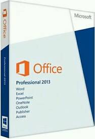 Microsoft Office 2013 Professional Plus Genuine 32bit&64bit