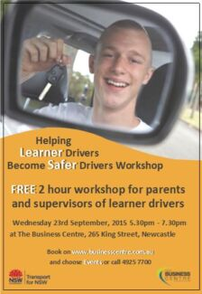 Helping Learner Drivers Become Safer Drivers Newcastle 2300 Newcastle Area Preview