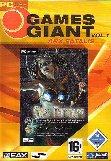 ARX FATALIS - PC Epic Role Playing Game - Brand New