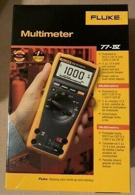 Fluke 77-4 77-iv 1000v Industrial Digital Multimeter