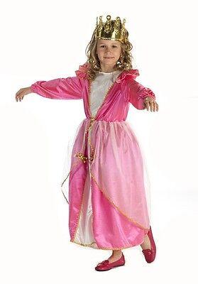 Prinzessin Kostüm für Kinder rosa Rosalia Prinzessinnenkleid für Mädchen