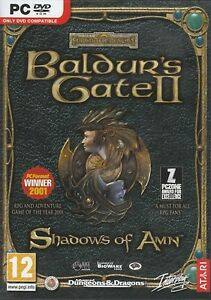Baldurs-Gate-2-II-Shadows-of-Amn-PC-XP-VISTA-SEALED-NEW