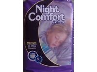 NEW & SEALED Libero Night Comfort Pull-ups Medium Size (20-37kg)