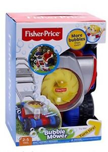 Fisher Price Bubble Mower With Sounds like Real Lawn mower