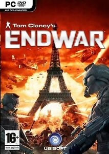 TOM-CLANCYS-END-WAR-ESCLUSIVO-PC-NUOVO-amp-SIGILLATO