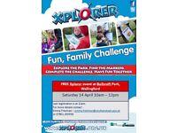 FREE Family Xplorer Orienteering Event at Bullcroft Park in Wallingford